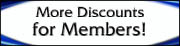 more discounts for members