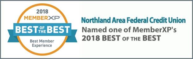 2018 Best of the Best award banner on the New at Northland Page