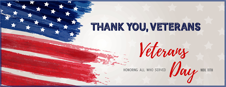 Northland Homepage banner Thank you Veterans Honoring all who served.