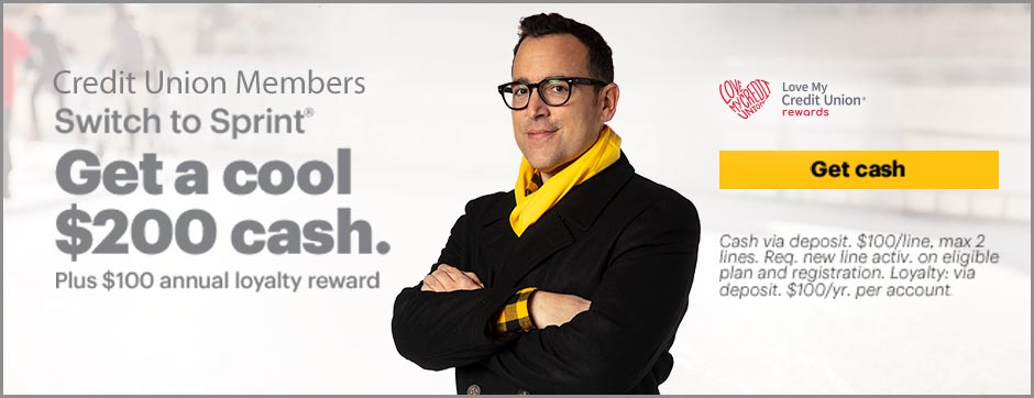 Sprint $200 cash back for switching to Sprint