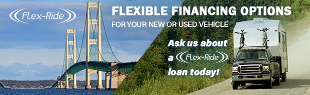 Flex-Ride a flexible financing option for new or used cars 5 years old and newer