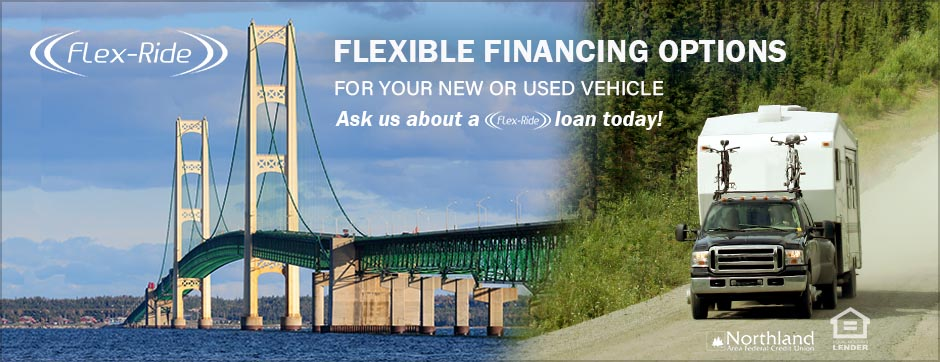 Glex Ride flexible financing options for your new or used vehicle ask us about a flex-ride loan today!