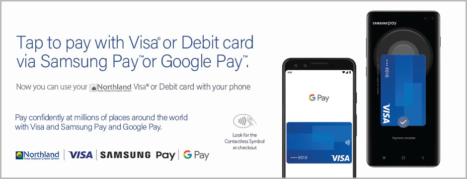 Google Pay and Samsung Pay are here!