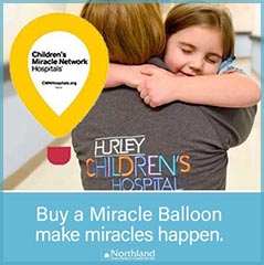 Childrens Miracle Network fundraiser through March
